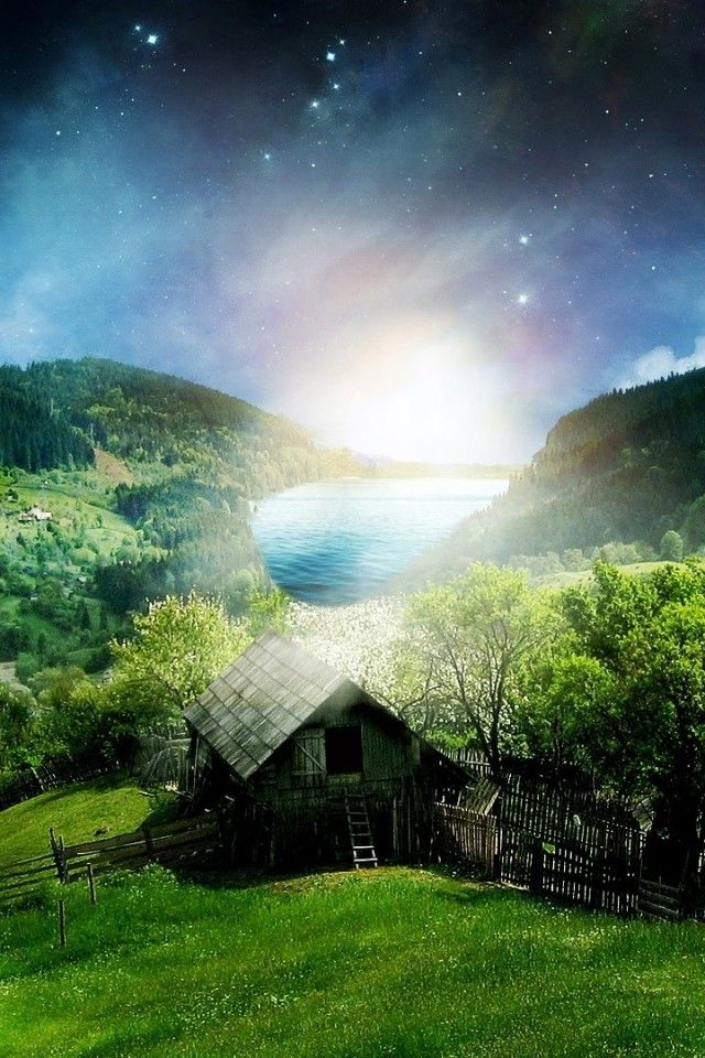 3D Nature Landscape Wallpaper