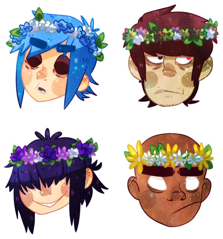 Gorillaz are gods xoxo