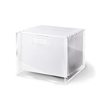Acrylic File Box - Russell and Hazel