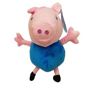 Peppa Pig George Plush Toys Unique design by PlushDirect based on the Nickelodeon show, Peppa Pig