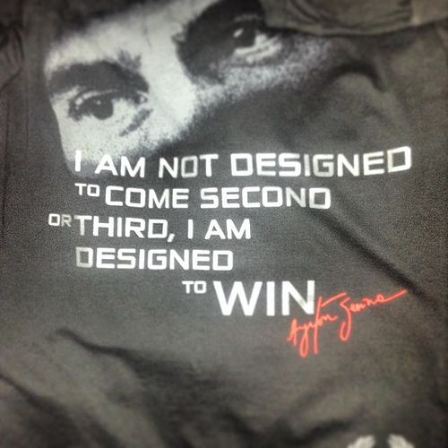 Ayrton Senna quote                                                       …