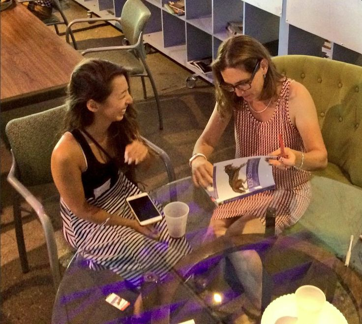 UX Goddess Christina Chan with Jaime Levy - LATech Digest ‏@LATechDigest  Jul 17 .@JaimeRLevy signing her new #uxstrategy book at @CrossCampus @LAUXmeetup