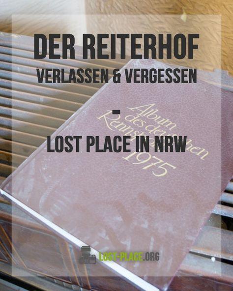 Der verlassene Reiterhof - ein toller Lost Place im Ruhrgebiet! Ich war auf einem verlassenen Reiterhof bzw. Pferdehof und habe tolle Fotos gemacht. Dieser Lost Place in NRW, genauer gesagt im Ruhrgebiet war echt schön - es sah aus als ob die Zeit stil