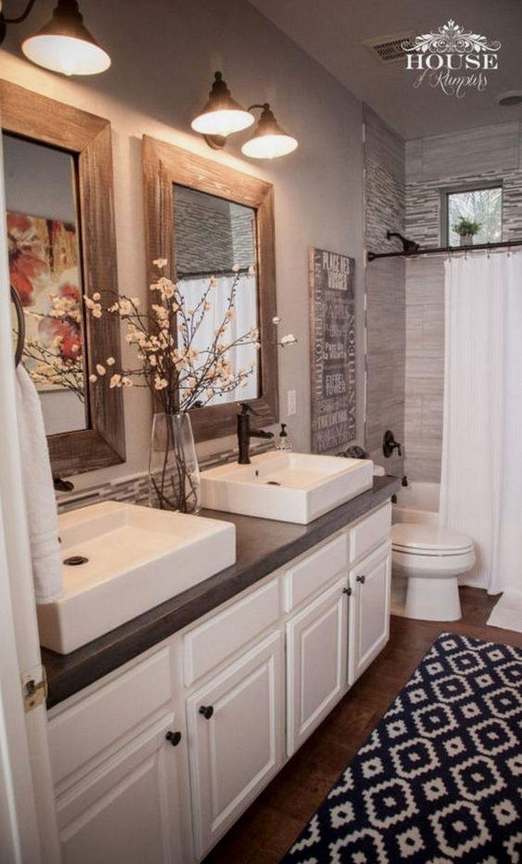 Pin By Teeny Meg On Beautiful Home Rustic Bathrooms Bathroom
