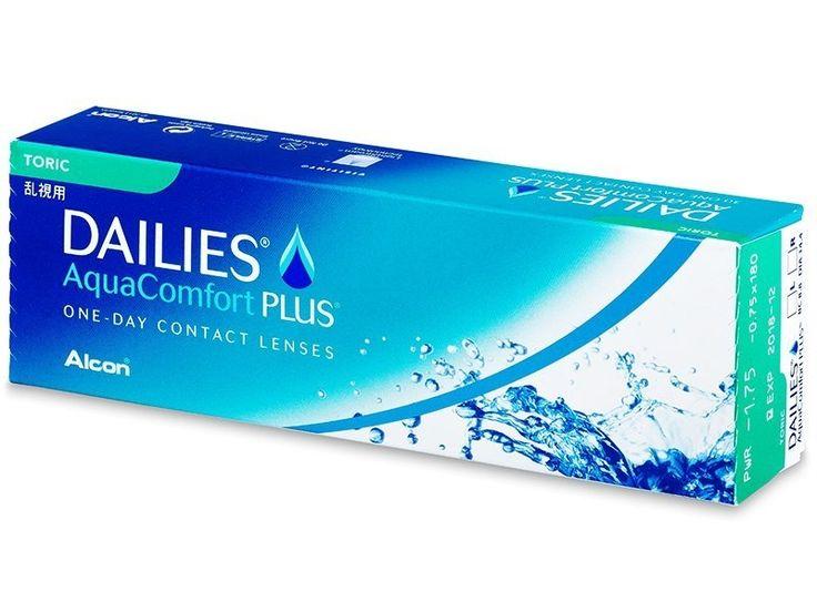 Dailies AquaComfort Plus Toric (30Linsen) - Torische Kontaktlinsen