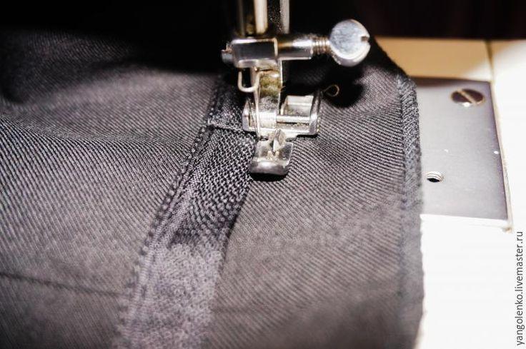 Подшиваем мужские брюки