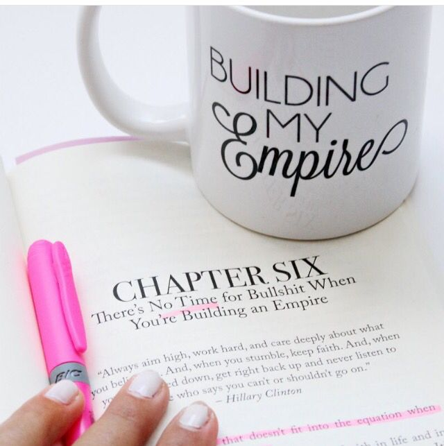 Building an Empire quote