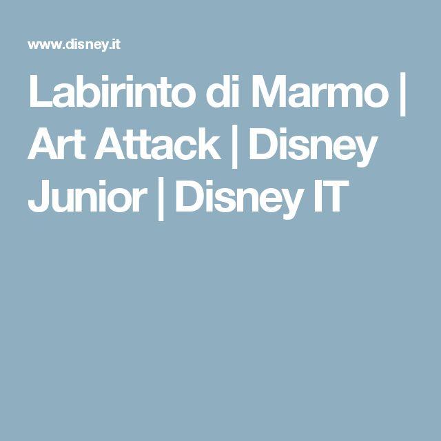 Labirinto di Marmo | Art Attack | Disney Junior | Disney IT