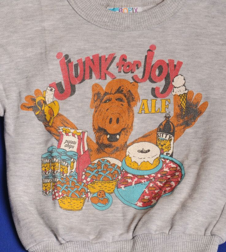 alf tv show childrens unisex sweatshirt size 6 8 excellent cond - Alf Halloween Episode