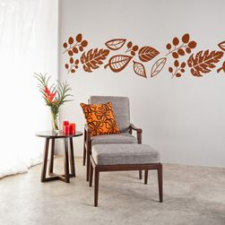 "Wall Decals - Approx. 79"" X 27""."
