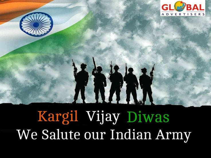 We salute to soldiers of Kargil who fought bravely and sacrificed their lives to serve our Nation. #KargilVijayDiwas