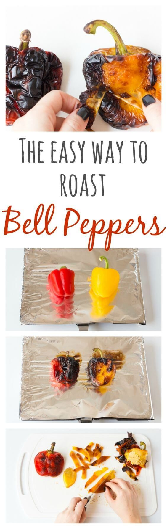 nice How to Roast Bell Peppers