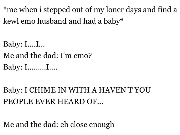 I swear me and my bf are emo and if we get married and we have a kid (boy) we're naming it Gerard we've already agreed
