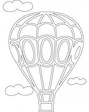 Трафарет Воздушный шар