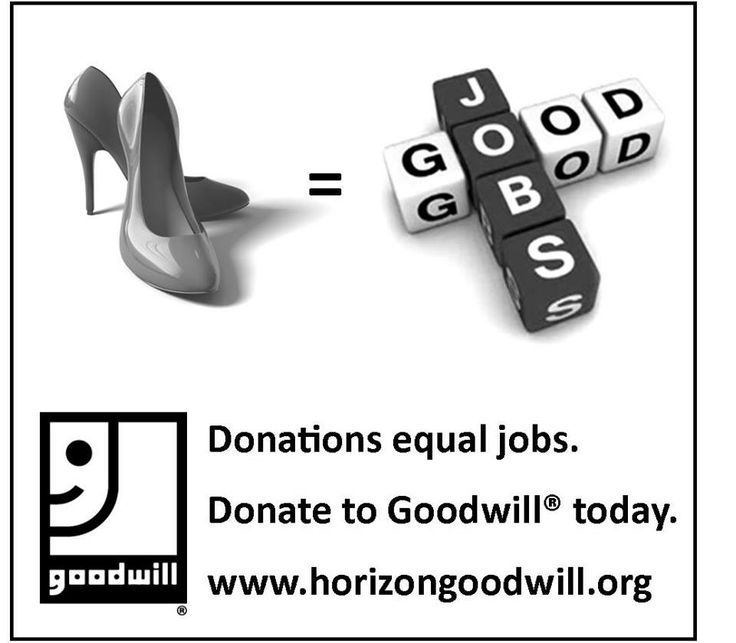 Your Old Heels U003d #jobs! #Donate Them Today! | Donate Stuff. Create  Wallpaper · , Inc Pickup Services On Does Goodwill Pick Up Furniture ...