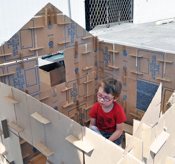 Cardboard House PlansCardboard house plans   pesquisa google
