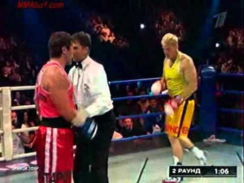 Dolph Lundgren VS Oleg Taktarov ( Real Boxing Match complete ) - YouTube