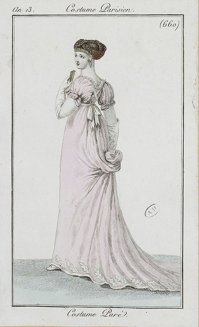 M5053ma modx06x00077 l 3 costumes regency and empire French style fashion advice