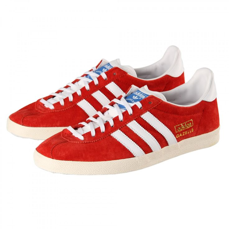 Red Adidas Gazelle OG | Sneakers | Pinterest | Adidas gazelle, Adidas and  Trainers