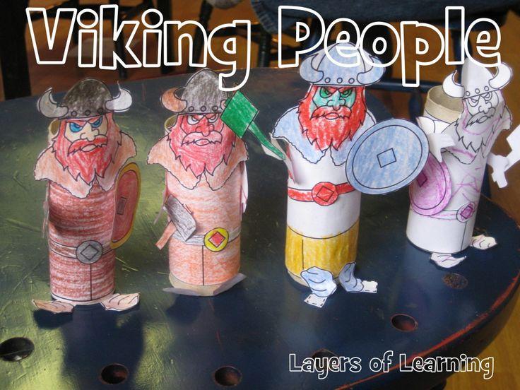 "Viking People craft and ""trade & raid"" map"