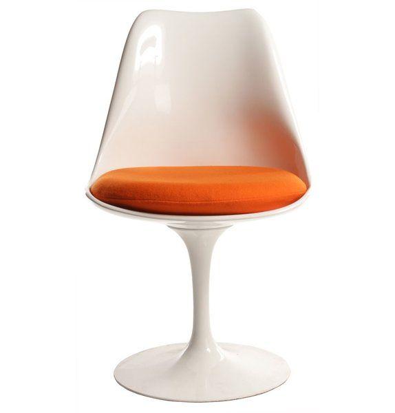 vinyl cushions for saarinen tulip chairs or burke chairs