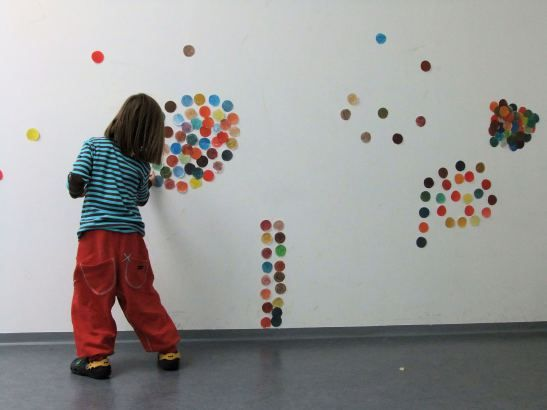 Going Dotty for the Spotty: Pre-school Installation Art! (October 2013)