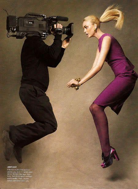 Caroline Trentini by Patrick Demarchelier for Vogue US