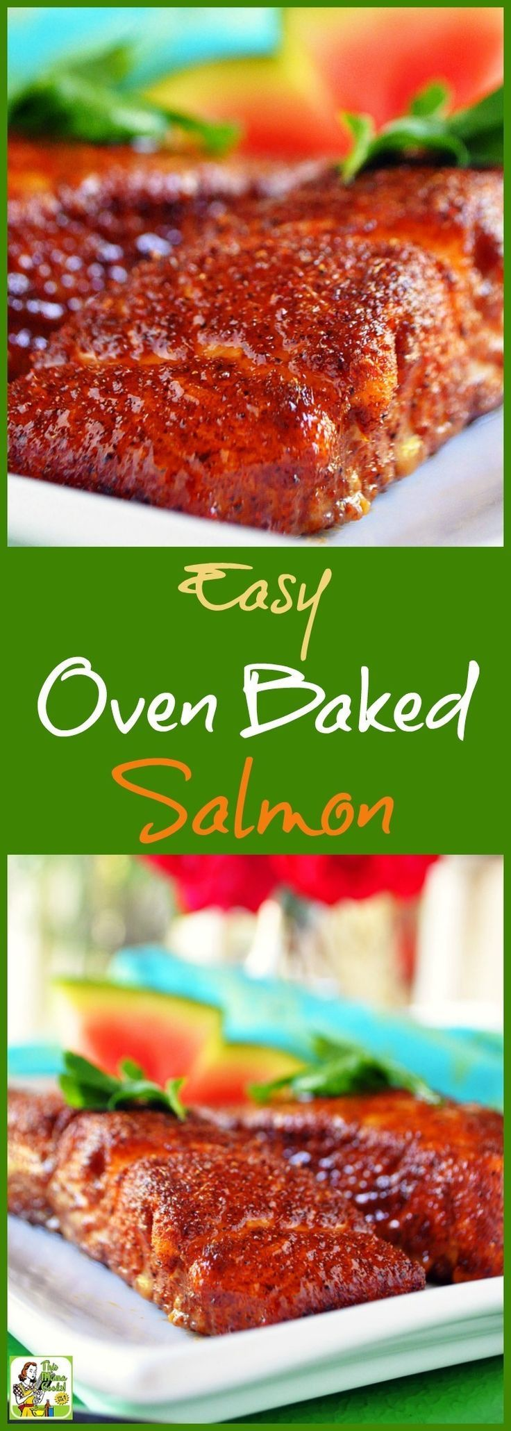 Love salmon but don't know how to cook it? Try this Easy Oven Baked Salmon recipe. Click here to get this easy fish recipe.