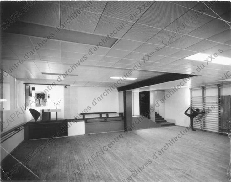 1960 1961 salle de danse de parent club de bagatelle neuilly sur seine vue de la
