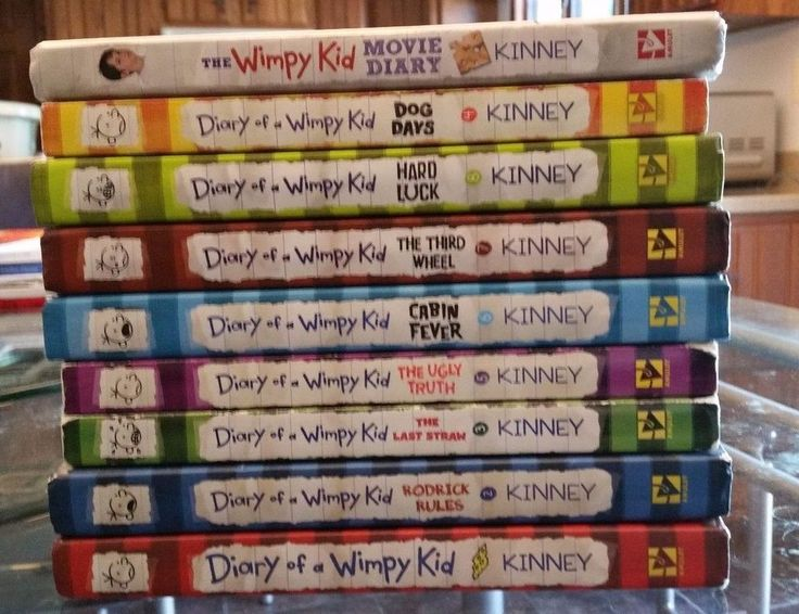 Best 25 wimpy kid series ideas on pinterest wimpy kid books 9 hard and soft back book lot diary of a wimpy kid series jeff kinney solutioingenieria Images