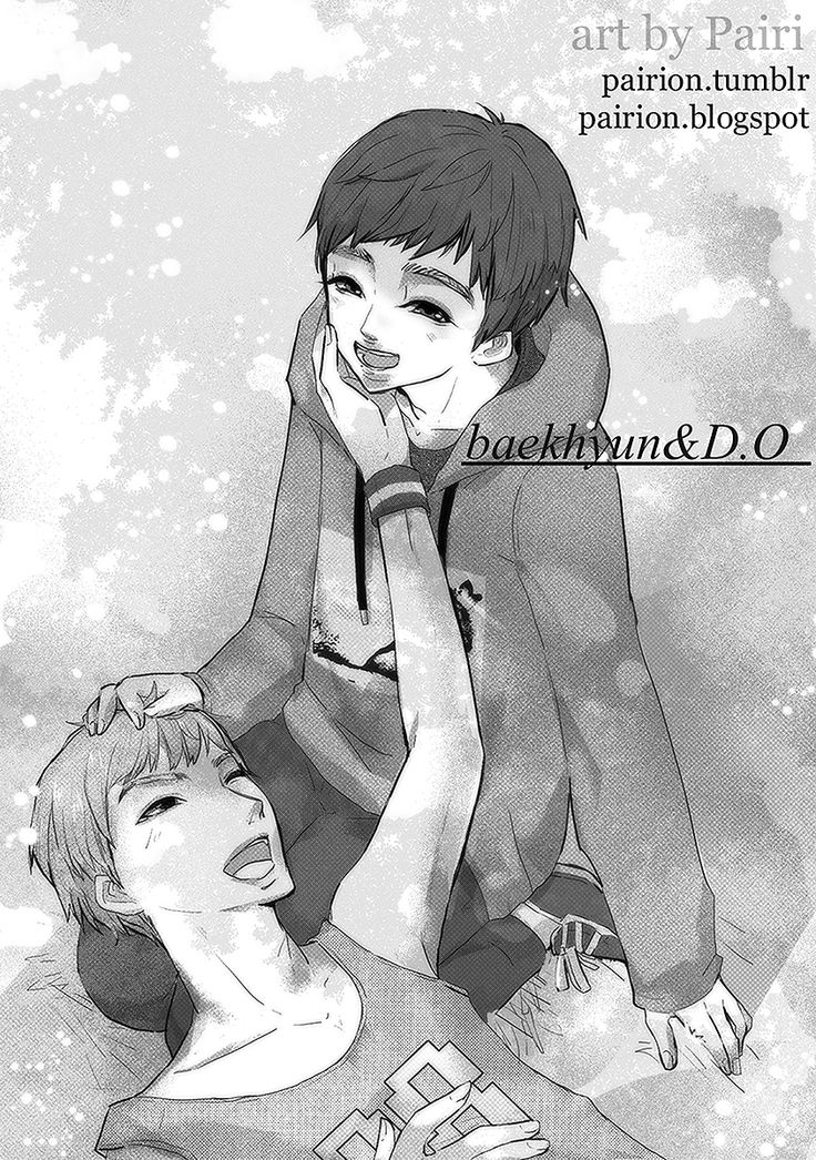 Fanart Baekdo ♥♥ Rest time