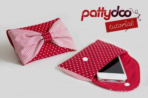 """pattydoo tutorial #7: Handytasche & Clutch """"Bowie""""   pattydoo"""