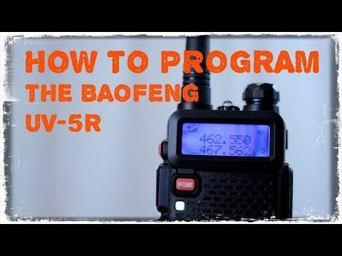 How To Program The Baofeng UV-5R For Survival Communications - TinHatRanch