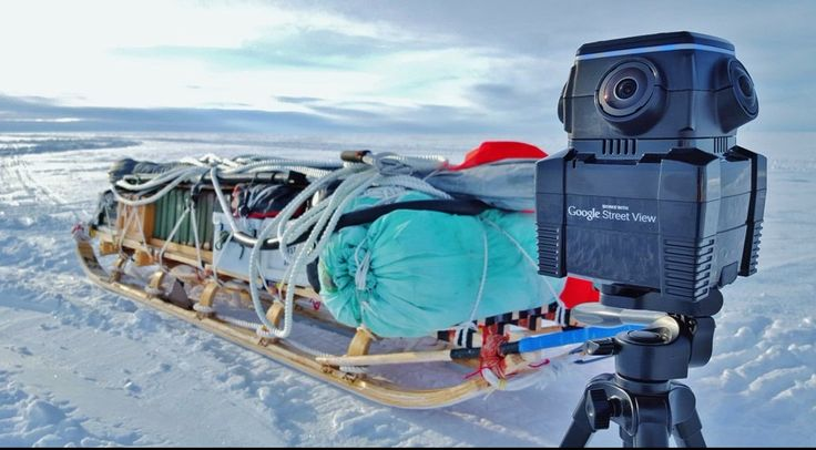 Creating virtual tours in Antactica using the NCTech iris360 immersive reality imaging system