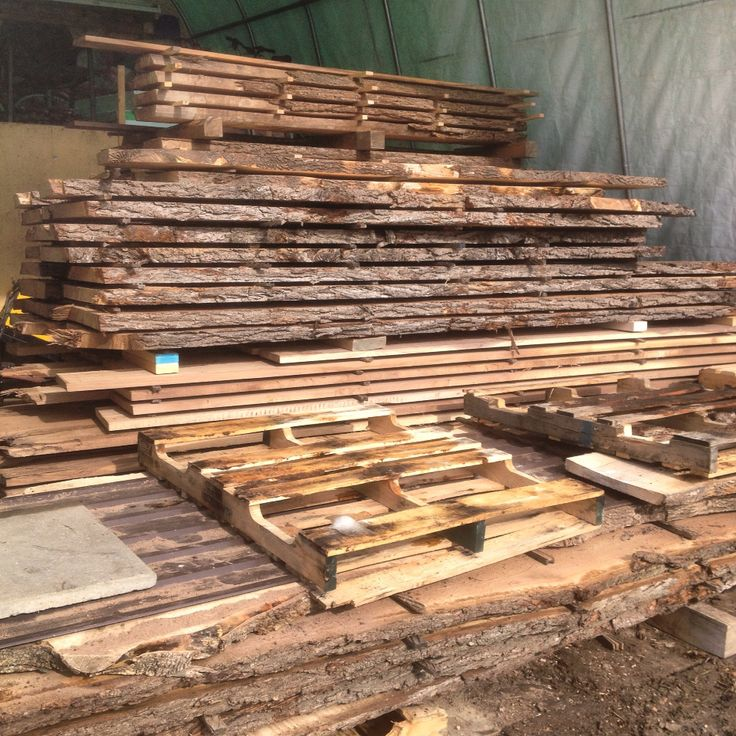 Spent the morning piling lumber 8' 10' 12' 14' and 16' Canadian Walnut.... All saved from being burned or chipped.... Feels good!