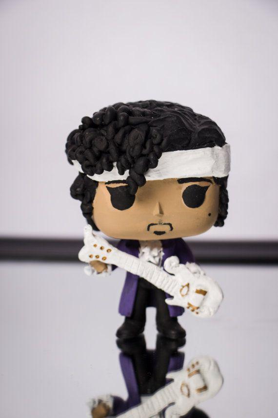 Prince Custom Funko Pop Funko Pop Funko Pop Vinyl And