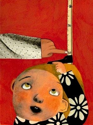"""Che cos'è un bambino?"" (2008) illustration by Italian author & illustrator Beatrice Alemagna. acrylic, gouache, collage, pencil. via MiMa's butterflies"