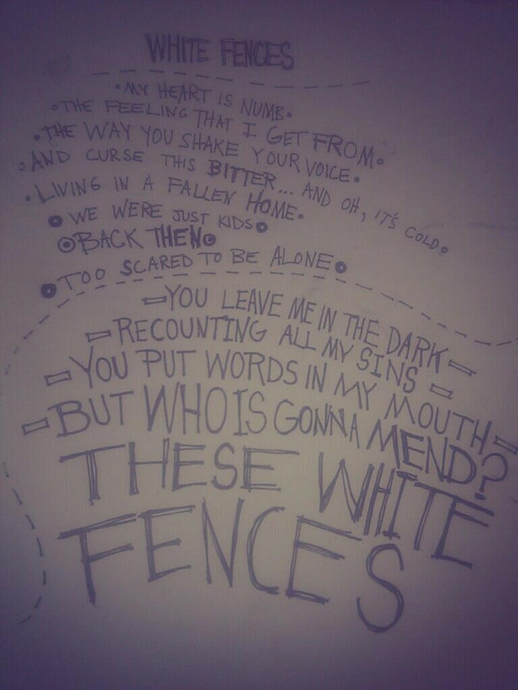 White Fences - NEEDTOBREATHE