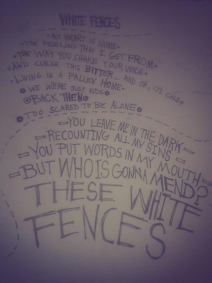 White Fences - NEEDTOBREATHE