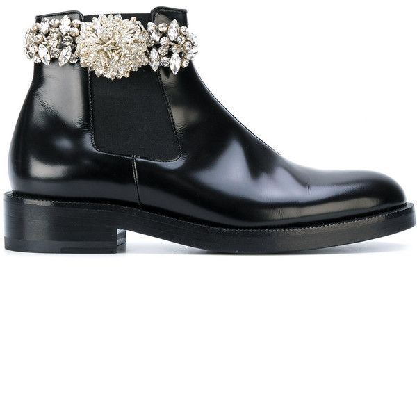 Christopher Kane crystal chelsea boot ( 845) ❤ liked on Polyvore featuring  shoes, boots 0e5722dc57cc