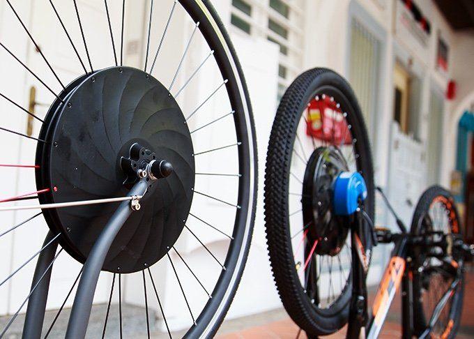 In 60sek Zum E Bike Vorderradantrieb Urbanx Radtouren Rad Cooles Fahrradzubehor