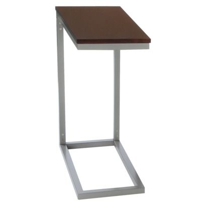 Bay Shore Collection C Shape Side/End Table   Espresso, $49.09, Target