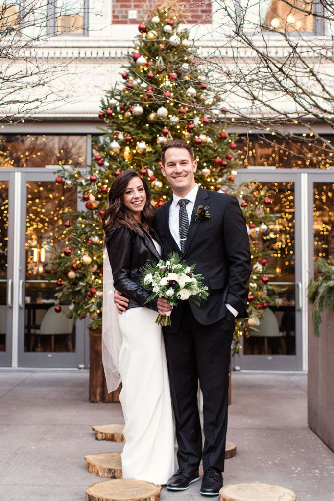 Colorful Christmas In Chicago 2020 Gallery 1028 Wedding in Chicago | Emma Mullins Photography in 2020