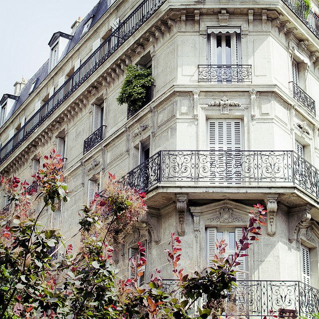 Paris, Ile-de-France, France: Favorite Places, Dreams, Paris Travel, Paris Apartments, Balconies, The View, Paris France, Buildings, Architecture