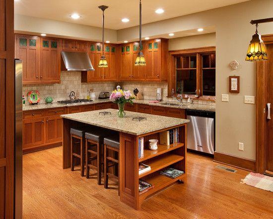 Http Www Houzz Com Photos  Craftsman Style Home Craftsman Kitchen Dallas