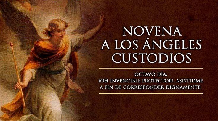 Octavo Día de la Novena a los Ángeles Custodios