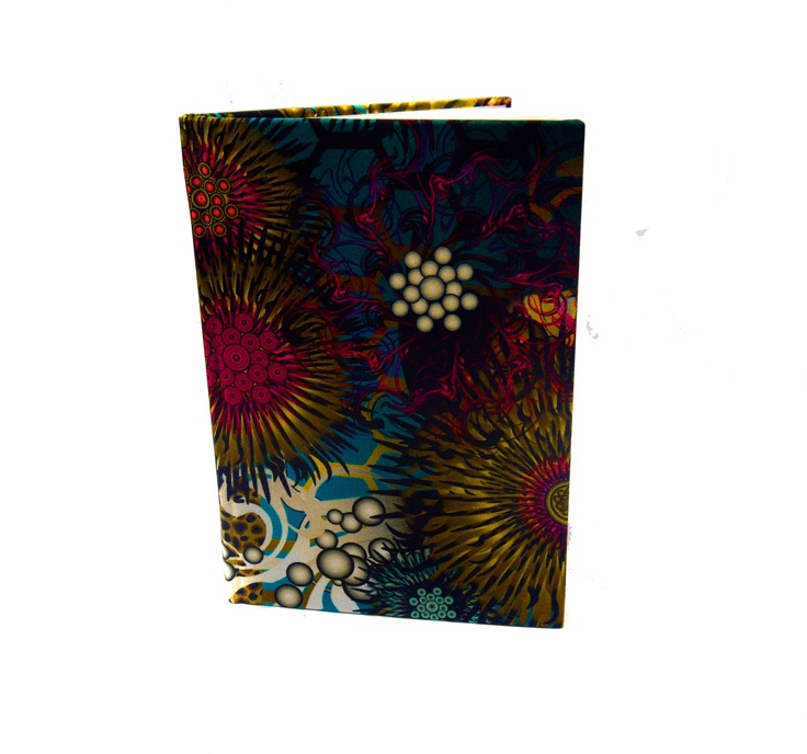 Modern Love Large Luxury A5 Notebook - Jewell Anemone