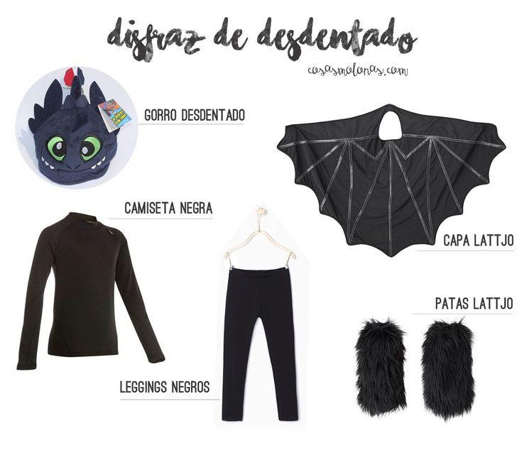 DIY Disfraz de Desdentado