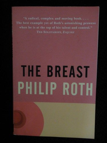 The Breast by Philip Roth. Full review linked here: http://imranlorgat.com/2014/11/21/32unedited-the-breast-by-philip-roth-book-thoughts/