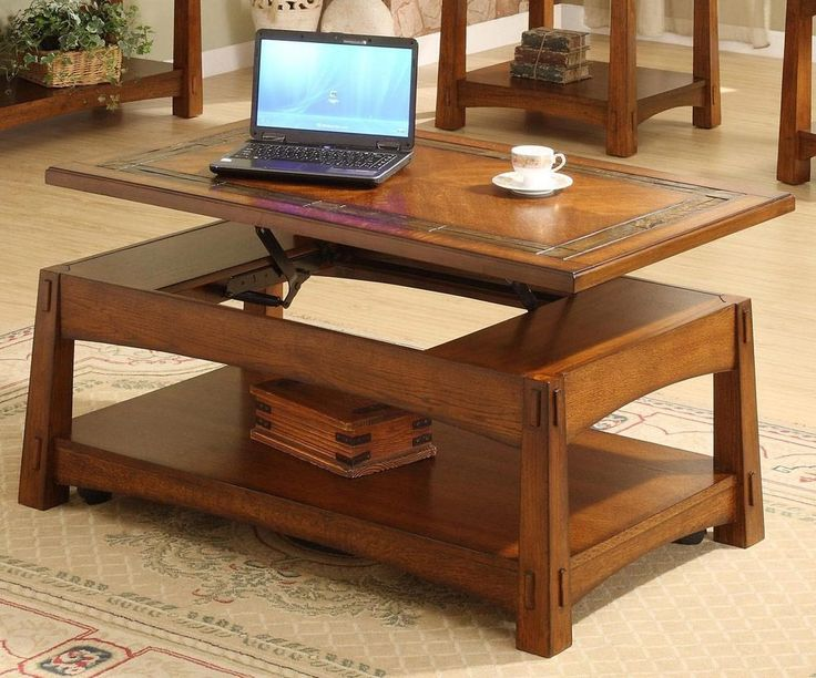 Coffee Tables That Raise To Dining Height